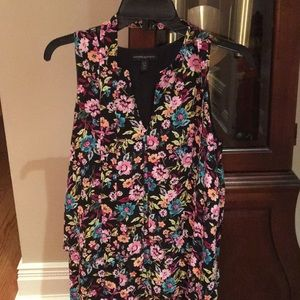 Banana Republic petite floral dress